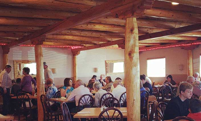 Mountain View Interior Dining Room